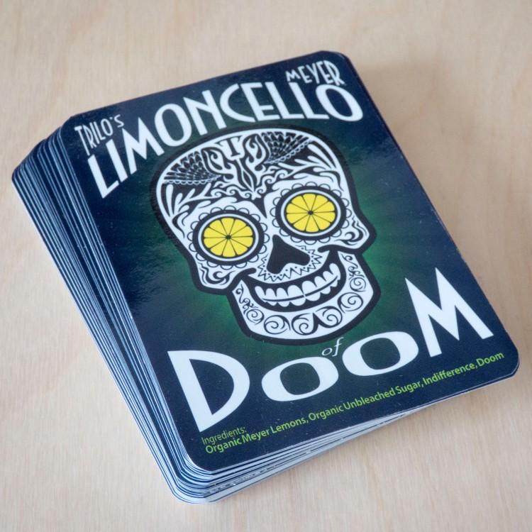 Limoncello Of Doom Label